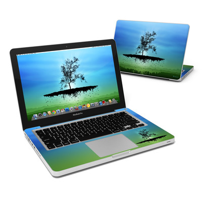 MacBook Pro 13in Skin - Flying Tree Blue