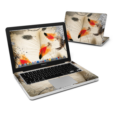 MacBook Pro 13in Skin - Feather Dance