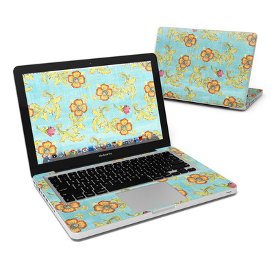 MacBook Pro 13in Skin - Garden Jewel