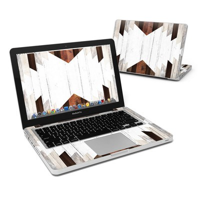 MacBook Pro 13in Skin - Geo Wood