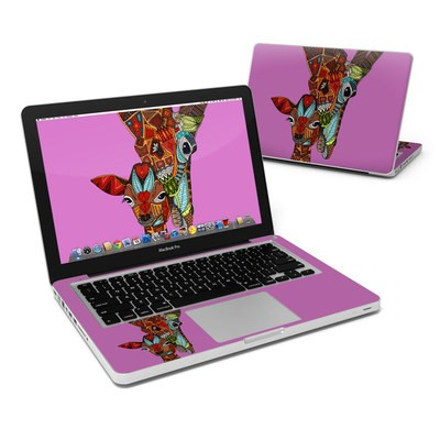 MacBook Pro 13in Skin - Giraffe Love