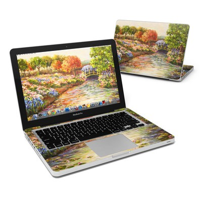 MacBook Pro 13in Skin - Giverny Forever