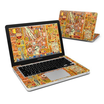 MacBook Pro 13in Skin - The Golding Time