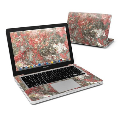 MacBook Pro 13in Skin - Gilded Magma Marble