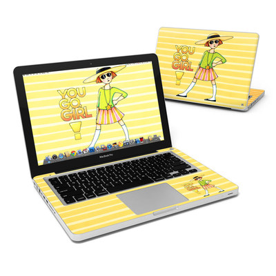 MacBook Pro 13in Skin - You Go Girl