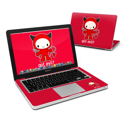 MacBook Pro 13in Skin - Got Evil