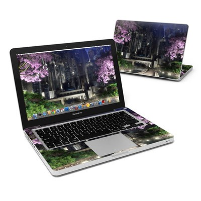 MacBook Pro 13in Skin - Gotham Garden
