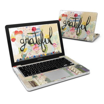 MacBook Pro 13in Skin - Grateful