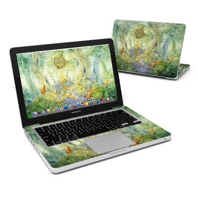 MacBook Pro 13in Skin - Green Gate