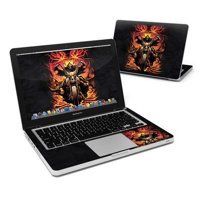 MacBook Pro 13in Skin - Grim Rider