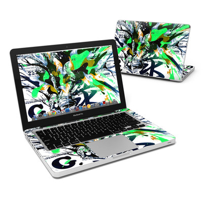 MacBook Pro 13in Skin - Green 1