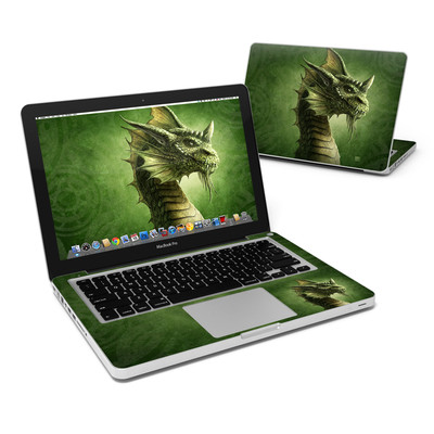 MacBook Pro 13in Skin - Green Dragon