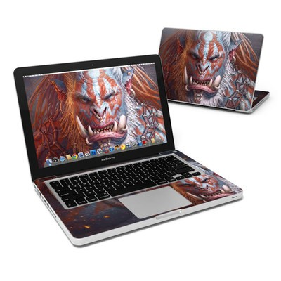 MacBook Pro 13in Skin - Gruddur Orangefist