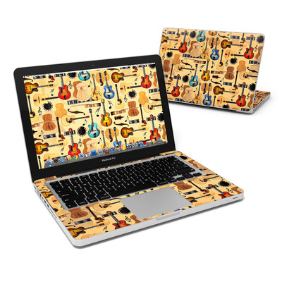 MacBook Pro 13in Skin - Guitar Collage