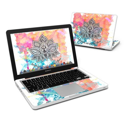 MacBook Pro 13in Skin - Happy Lotus