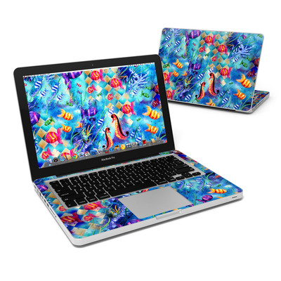 MacBook Pro 13in Skin - Harlequin Seascape
