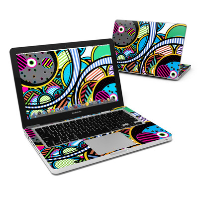 MacBook Pro 13in Skin - Hula Hoops