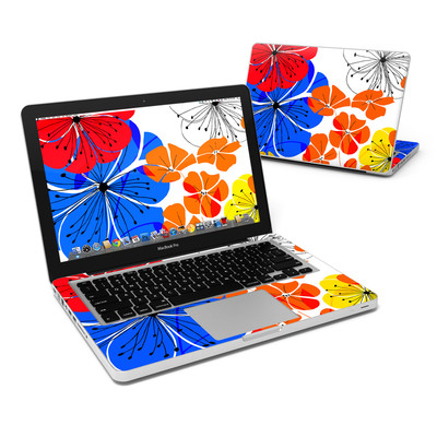 MacBook Pro 13in Skin - Hibiscus Dance