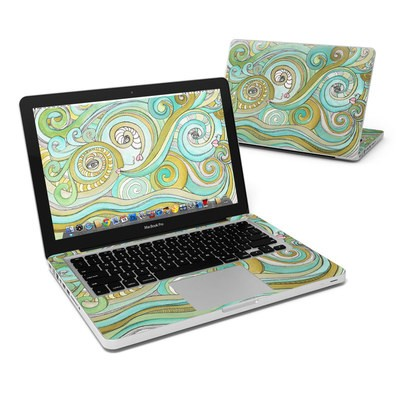 MacBook Pro 13in Skin - Honeydew Ocean