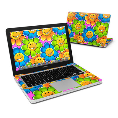 MacBook Pro 13in Skin - Happy Daisies