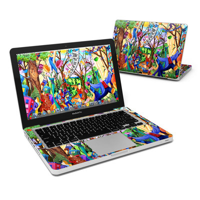 MacBook Pro 13in Skin - Happy Town Celebration
