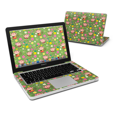 MacBook Pro 13in Skin - Hula Monkeys