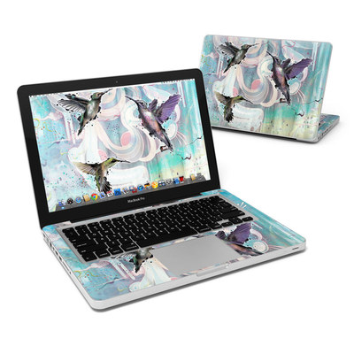 MacBook Pro 13in Skin - Hummingbirds