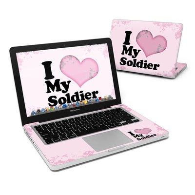 MacBook Pro 13in Skin - I Love My Soldier