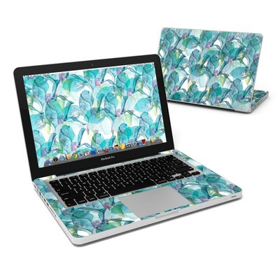 MacBook Pro 13in Skin - Iris Petals