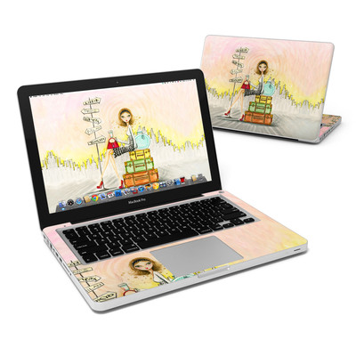 MacBook Pro 13in Skin - The Jet Setter