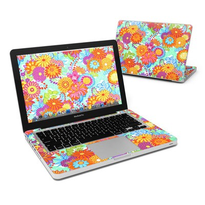 MacBook Pro 13in Skin - Jubilee Blooms