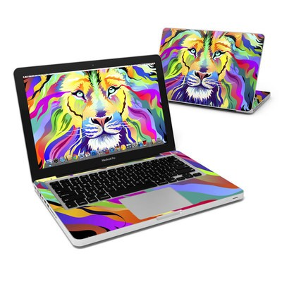 MacBook Pro 13in Skin - King of Technicolor