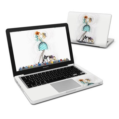 MacBook Pro 13in Skin - A Kiss for Dot