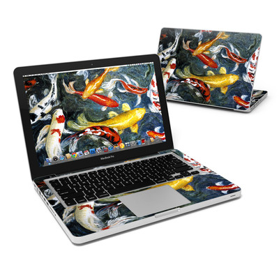 MacBook Pro 13in Skin - Koi's Happiness