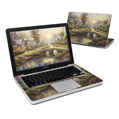 MacBook Pro 13in Skin - Sunset On Lamplight Lane