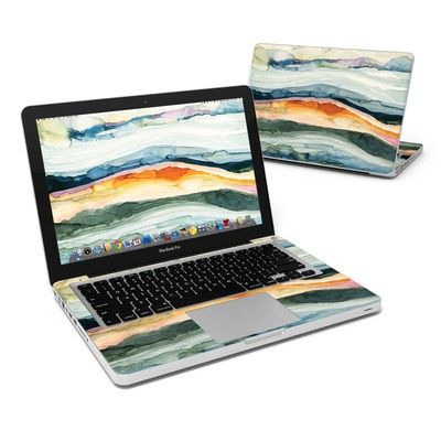 MacBook Pro 13in Skin - Layered Earth