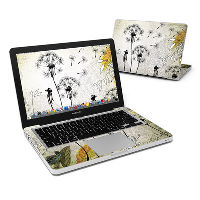 MacBook Pro 13in Skin - Little Dandelion
