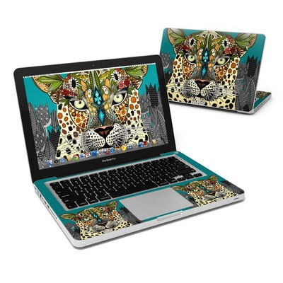 MacBook Pro 13in Skin - Leopard Queen