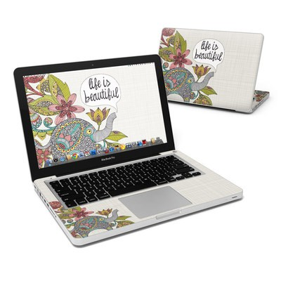 MacBook Pro 13in Skin - Life is Beautiful