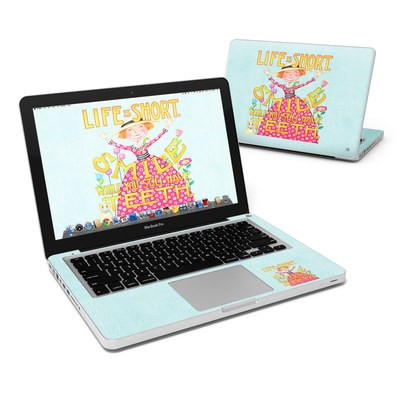 MacBook Pro 13in Skin - Life is Short