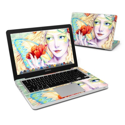 MacBook Pro 13in Skin - Light of the Poppy
