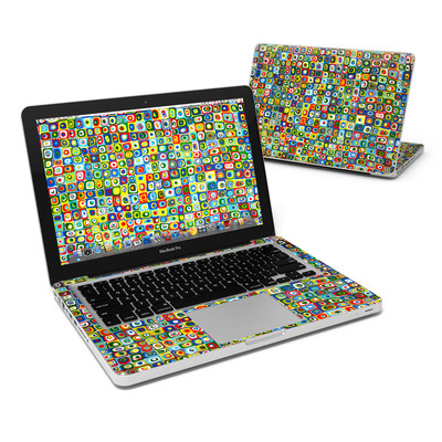 MacBook Pro 13in Skin - Line Dancing