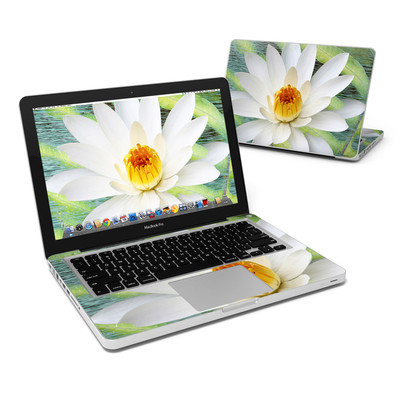 MacBook Pro 13in Skin - Liquid Bloom