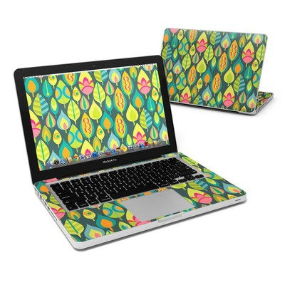 MacBook Pro 13in Skin - Little Leaves