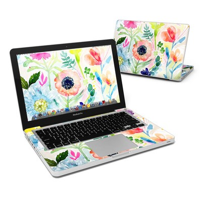 MacBook Pro 13in Skin - Loose Flowers