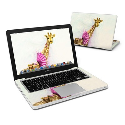 MacBook Pro 13in Skin - Lounge Giraffe