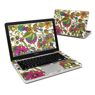 MacBook Pro 13in Skin - Maia Flowers