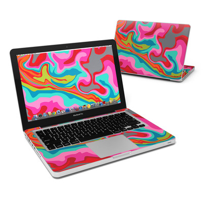 MacBook Pro 13in Skin - Marble Bright
