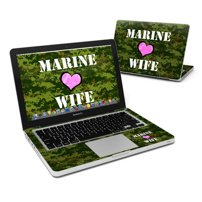 MacBook Pro 13in Skin - Marine Wife