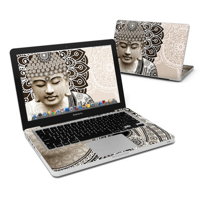 MacBook Pro 13in Skin - Meditation Mehndi